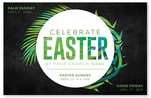 Easter Palm Crown 4/4 ImpactCards