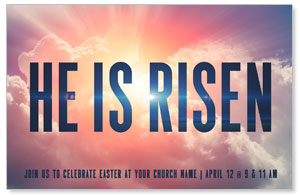 He Is Risen Bold 4/4 ImpactCards