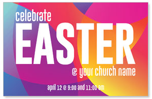 Curved Colors Easter 4/4 ImpactCards