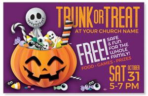 Purple Trunk or Treat 4/4 ImpactCards