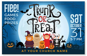 Trunk or Treat Kids 4/4 ImpactCards