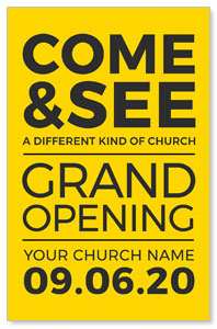 Yellow Grand Opening 4/4 ImpactCards