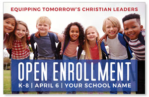 Kids Enroll Together 4/4 ImpactCards