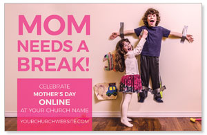 Mom Needs A Break Online 4/4 ImpactCards
