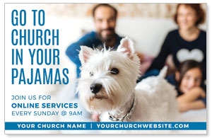Church In Pajamas Family 4/4 ImpactCards