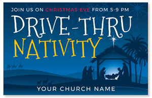 Drive-Thru Christmas Nativity 4/4 ImpactCards