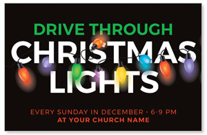 Drive Through Christmas Lights 4/4 ImpactCards