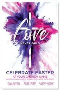 Love Never Fails 4/4 ImpactCards