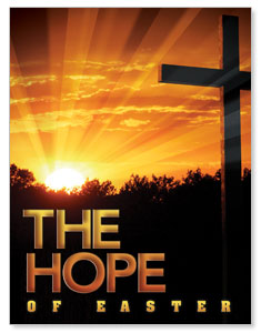 Easter Hope Cross InviteCards