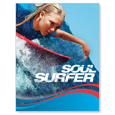 Soul Surfer Small Postcard