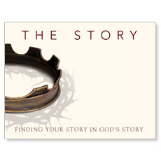 The Story Small Postcard