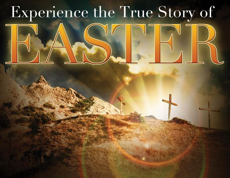 true story easter invitecard