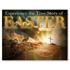 True Story Easter InviteCard