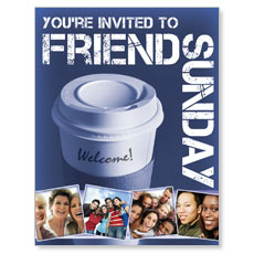Wow! Sunday Friend Sunday Small Postcard
