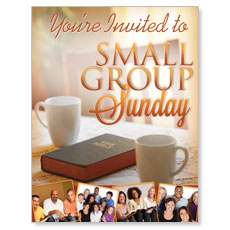 Wow! Sunday Small Group Sunday Small Postcard