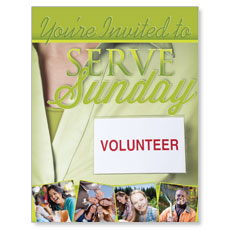 Wow! Sunday Serve Sunday Small Postcard