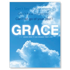 Learn Grace Small Postcard
