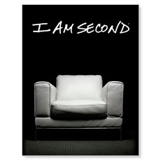I Am Second Small Postcard
