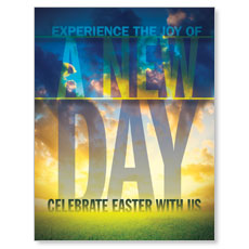 New Day Easter InviteCard