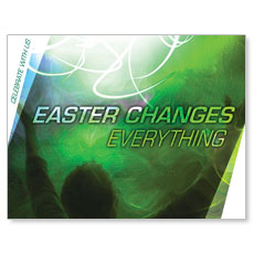 Easter Changes Small Postcard