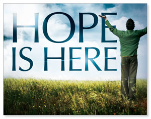 Hope Is Here InviteCards