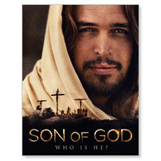 Son of God Who is He? Small Postcard