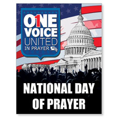 National Day of Prayer 2014 Small Postcard