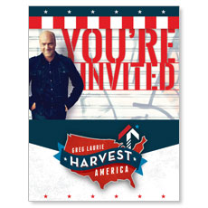 Harvest America 2014 Small Postcard