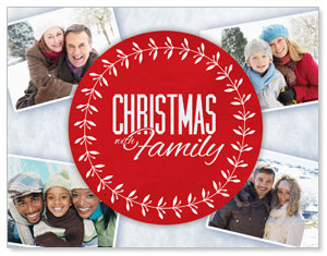 Christmas Family InviteCards
