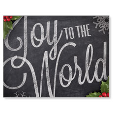 Chalk Joy Small Postcard