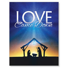 Love Came Down Small Postcard