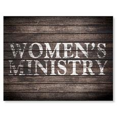 Rustic Charm Women InviteCard