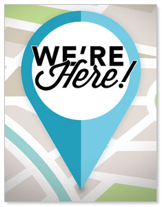 We Are Here InviteCards