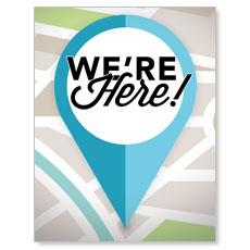 We Are Here InviteCard