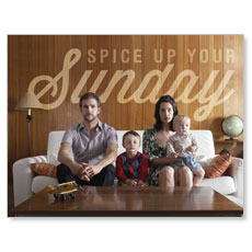 Spice Up Sunday InviteCard