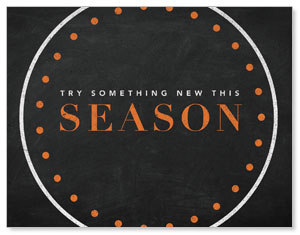 Season Dots InviteCards