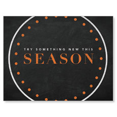 Season Dots InviteCard