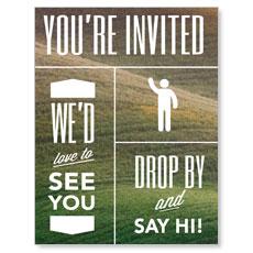 Phrases Welcome InviteCard