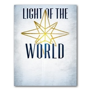 Light of the World Star InviteCards