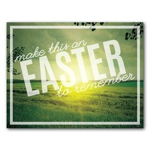 Easter to Remember Green ImpactMailers