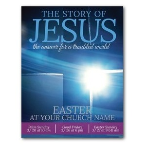 Story of Jesus Cross ImpactMailers