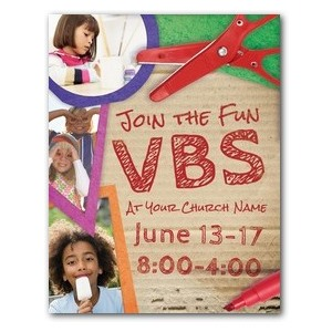 VBS Crafts InviteCards