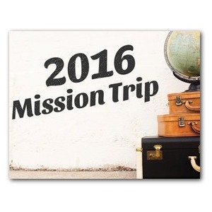 Mission Trip InviteCards