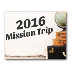 Mission Trip InviteCard