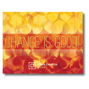 Change Is Good InviteCards