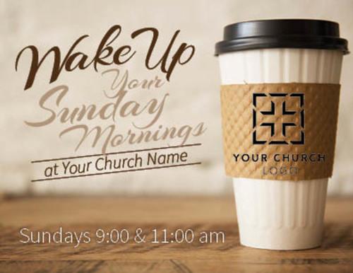 Coffee Invite Invitecard Church Invitations Outreach