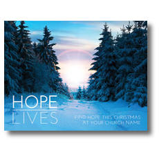 Hope Lives InviteCard
