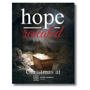 Hope Revealed Manger InviteCards