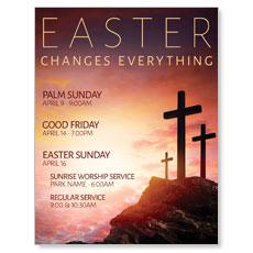 Easter Crosses Hilltop InviteCard