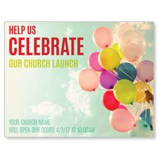 Balloons Celebrate InviteCard